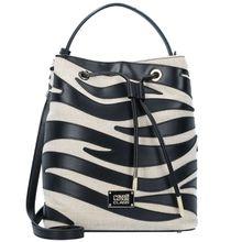 Roberto Cavalli Class Meryl Handtasche Leder 23 cm schwarz Damen