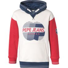 Pepe Jeans Sweatshirt 'Thomas' navy / rot / weiß