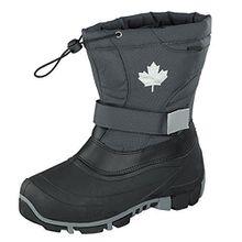 Indigo Canadians 467-185 Kinder Winter Stiefel Snow Boots (32, Dk. Grey)