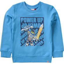 LEGO WEAR Sweatshirt 'NEXO KNIGHTS' navy / rauchblau