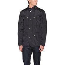 Geox Herren Jacke Man Jacket, Schwarz, Medium (Herstellergröße: 50)