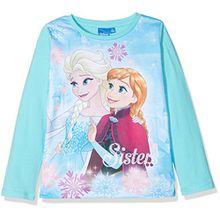 Disney Mädchen T-Shirt 82506, Turquoise (Turquoise), 4 Jahre