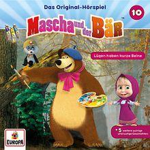 CD Mascha und der Bär 10 - Lügen haben kurze Beine Hörbuch