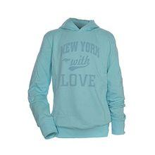 KangaROOS Hoody Sweatshirt Sweat Kapuze Kinder, Farbe:hellblau;Kindergrößen:164