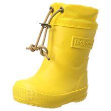 Bisgaard Unisex-Kinder Winter Thermo Gummistiefel, Gelb (80 Yellow), 34 EU
