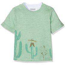 Kanz Baby-Jungen T-Shirt 1/4 Arm, Grün (Light Grass Green 5194), 62