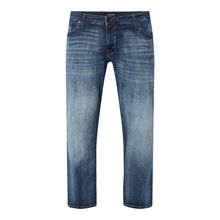 PLUS SIZE Straight Fit Jeans mit  Stretch-Anteil Modell 'Tim'