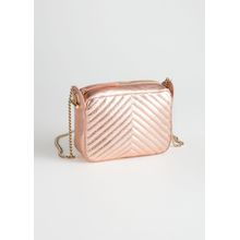 Quilted Mini Bag - Brown