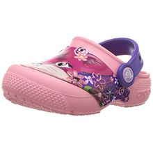 crocs Fun Lab Clog Kids, Unisex - Kinder Clogs, Pink (Peony Pink), 22/23 EU