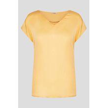 Shirt im Satin-Look