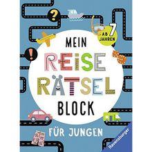 Buch - Mein Reise-Rätselblock Jungen  Kinder
