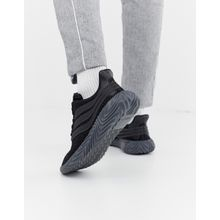 adidas Originals - Sobakov - Sneaker in Dreifach Schwarz - Schwarz