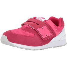 New Balance Unisex-Kinder Sneaker, Pink (Pink/White), 33 EU (1 UK)