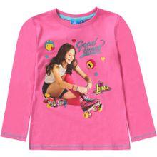 DISNEY Langarmshirt mischfarben / pink