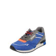 REPLAY Sneaker 'COLBURN' royalblau / grau / orange / weiß