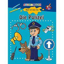 Buch - Ausmalbuch: Die Polizei