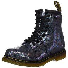 Dr. Martens Unisex-Kinder Delaney Tp Split Brogue Boots, Grau (Grigio), 34 EU