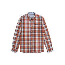 Pepe Jeans Hemd 'PB301620' nachtblau / rostbraun / weiß