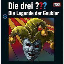 Die drei ???: Die Legende der Gaukler, 2 Schallplatte Hörbuch