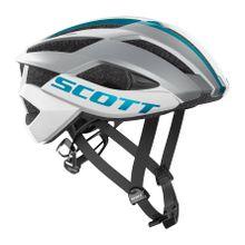 Scott - Arx Plus Unisex Bike Helm (weiß/blau) - S (51 ? 55 cm)