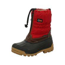 Vista Canada POLAR Damen Winterstiefel Snowboots Thermo-TEX Innenschuhe rot, Größe:41/42, Farbe:Rot