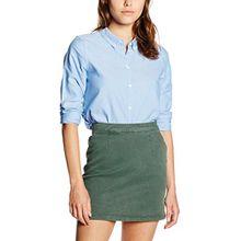 VERO MODA Damen Bluse Vmkatie LS Shirt Noos, Blau (Cashmere Blue), 36 (Herstellergröße: S)
