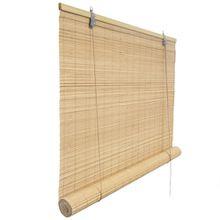 Bambusrollo 130 x 220 cm in natur - Fenster Sichtschutz Rollos - VICTORIA M