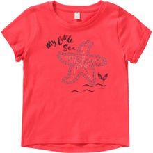 ESPRIT T-Shirt mit Pailletten für Mädchen hellrot