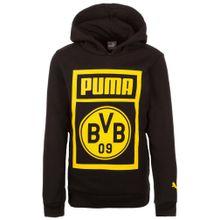 PUMA Pullover 'Borussia Dortmund' gelb / schwarz