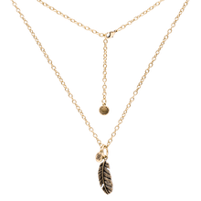 Urban Leaves Kette Feather- Cable Chain