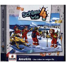 CD Schlau wie Vier 09 - Antarktis - Das Leben im ewigen Eis Hörbuch