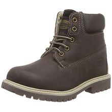 Dockers by Gerli 35FN701-400320, Unisex-Kinder Combat Boots, Braun (Cafe 320), 35 EU