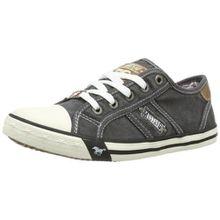 Mustang 5803-305-2, Unisex-Kinder Sneakers, Grau (2 grau), 34 EU