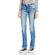 Mavi Damen Straight Leg Jeanshose OLIVIA, Gr. W26/L30, Blau (Blau lt lounge str)