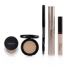 bareMinerals® Bright Eyes Augen Make-up-Set mit Lashtopia Mascara 5tlg.