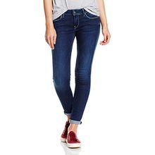 Pepe Jeans London Damen Soho Jeans, Blau (H45), W32/L32