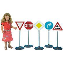 klein Verkehrszeichen-Set 1, 5-teilig, Höhe: ca. 75 cm