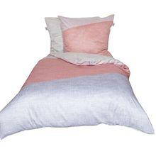 Schöner Wohnen Bettwäsche-Set, Baumwolle, Flamingo, 220 x 155 cm