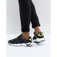 Asics - Gel-Mai - Sneakers mit Detail in Neon - Schwarz