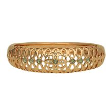 Guess Armreif Blossom mit Steinbesatz UBB61033-S Armbänder gold Damen
