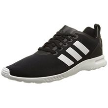 adidas ZX Flux Smooth, Damen Sneakers, Schwarz (Core Black/Core White/Core White), 40 2/3 EU (7 Damen UK)