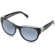 Michael Kors Damen Sonnenbrille MK6001B Bermuda, Schwarz (Black 300117), One size (Herstellergröße: 54)