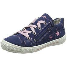 Superfit Mädchen Tensy Sneaker, Blau (Water Multi), 36 EU