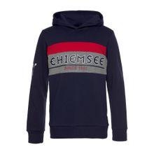 CHIEMSEE Kapuzensweatshirt marine / hellrot