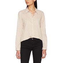 Scotch & Soda Maison Damen Langarmshirt Cotton Shirt mit Various Allover Prints, Mehrfarbig (Combo C 19), Large