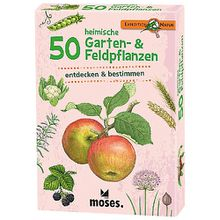 Buch - Expedition Natur: 50 heimische Garten- & Feldpflanzen