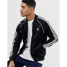 adidas - Originals - adicolor - Schwarze Trainingsjacke, CW1256 - Schwarz
