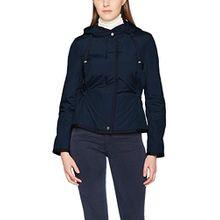Geox Damen Jacke Woman Jacket, Blau (Dark Navy F4300), 36 (Herstellergröße: 42)