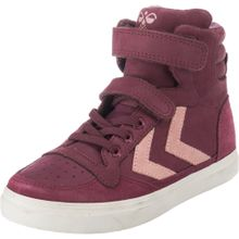 Hummel Sneakers 'STADIL OILED' rosa / weinrot
