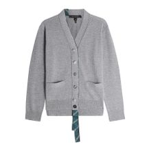 Marc Jacobs V-Neck-Cardigan aus Wolle